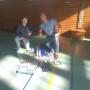 Badminton-Set an Schule gestiftet